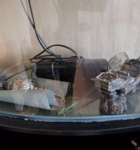 Продам тумбу с аквариумом