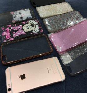 iPhone 6s 64gb НА ГАРАНТИИ rose gold