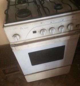 Газовая плита б/у de luxe