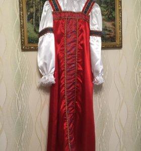 Новогодний русско народный кастюм