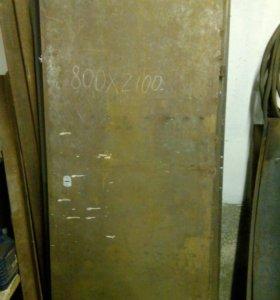 Дверь металл. с коробкой