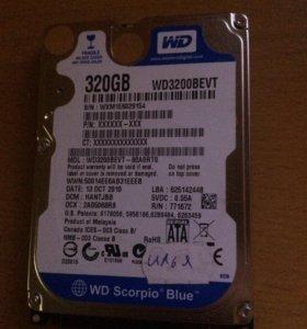 HDD WD blue 320gb Sata 2.5
