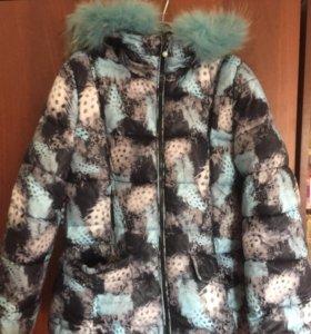 Куртка зимняя на девочку!