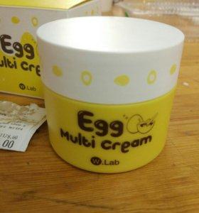 Корейский крем для лица Egg Multi Cream