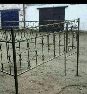 Изготовление оградок.