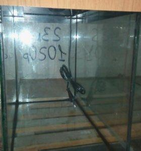Аквариум с патроном для лампы, 23 л