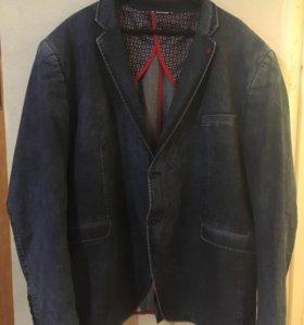 Джинсовый пиджак, р. 62