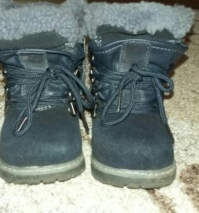 Зимние детские ботинки 22р-р