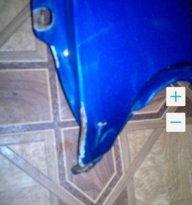 Крыло правое ваз 2114 с повреждением