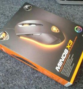 Новая игровая мышка Cougar Minos x3.