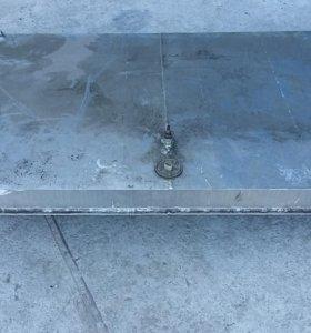 Бак алюминиевый на 110 литров