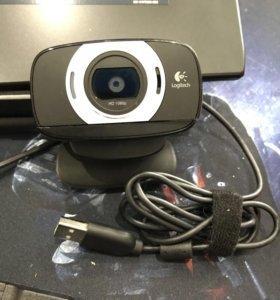 Logitech веб камера full hd, автофокус