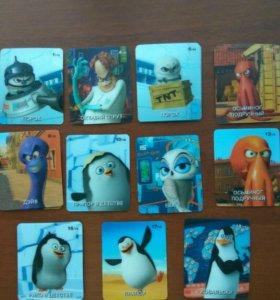 Пингвины Мадагаскара.