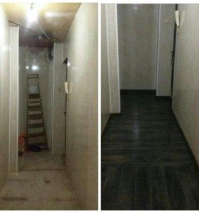 Занимаюсь ремонтом квартир и домов.