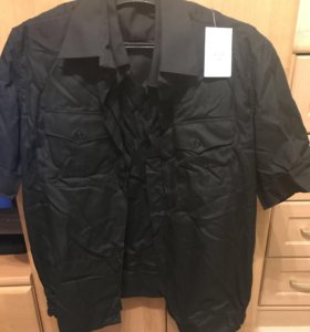 Рубашка чёрная (военная)