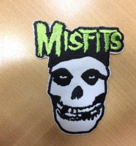 Нашивка Misfits