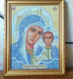 Икона крестиком