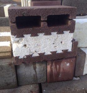 Блок керамзитный