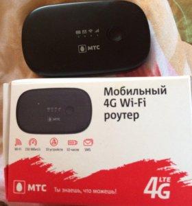 Мобильный 4G Wi-Fi роутер МТС