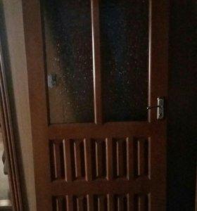 Буковая дверь