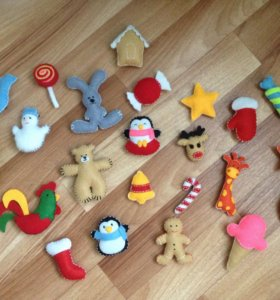 Буквы,игрушки из фетра