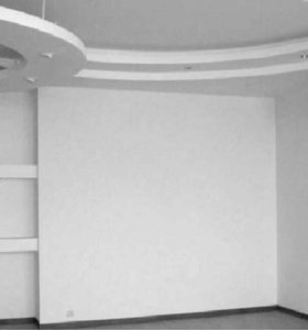 Монтаж гипсокартонных (гкл) конструкций