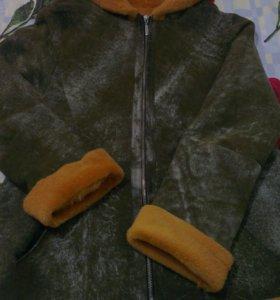 Женская дубленка (куртка)