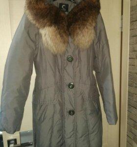 Пальто - пуховик (зима )