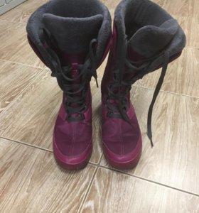 Ботинки adidas clima warm 8us(25,5см)