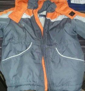 Куртка на мальчика 3-4,5 года