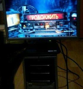 "Мощный комп + монитор 19""."