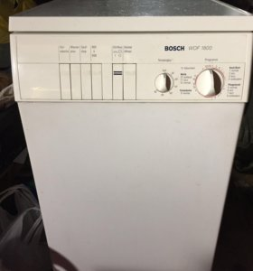 Стиральная машина Bosch WOF 1800