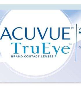 Контактные линзы 1-Day Acuvue TruEye -0,75 (26 шт)