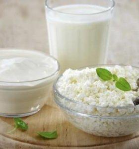 Молоко, сметана, творог