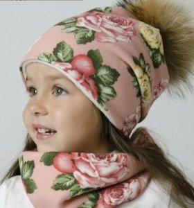 Зимние комплекты и шапки