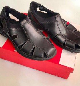 Новые кожаные сандали ECCO
