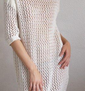 Платье -вязаное