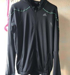 Куртка для бега/толстовка/ветровк adidas climalite