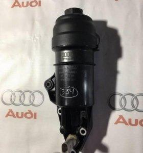 Кронштейн масляного фильтра Audi A4/S4, A5/S5