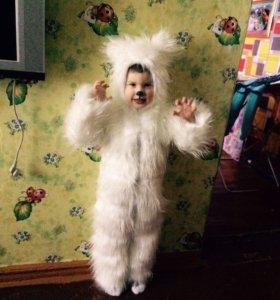 Костюм новогодний белый медведь