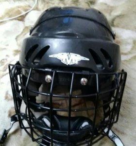 Шлем с маской хоккейный