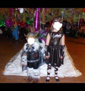 Новогодний костюм викинги
