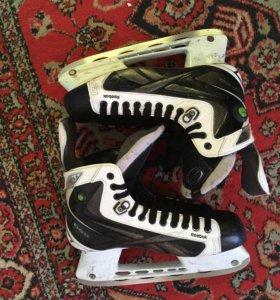 Коньки хоккейные Reebok white k