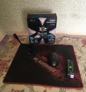 Мышь x7 коврик для мыши микрофон модем
