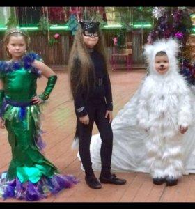Новогодний костюм русалка