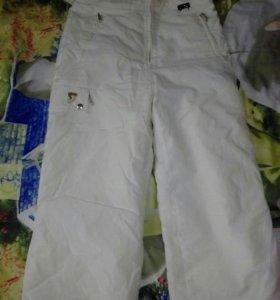 Лыжные брюки р.46-48
