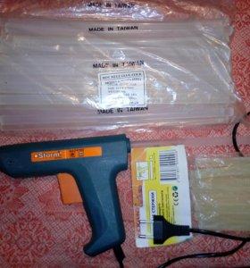 Стержни 11,2 термоклей для клеевого пистолета 1кг