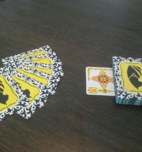 Игральные карты ручной работы.