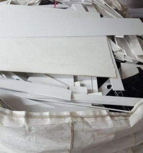 Вспененный ПВХ листовой(отходы)