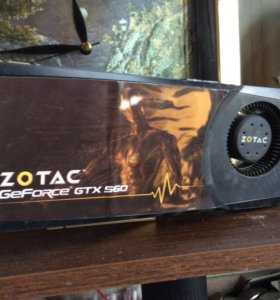 Видеокарта GTX 560 zotac